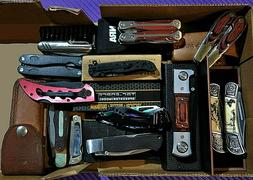 13 Folding Knives Collection Old Timer Tac Force Carson NRA