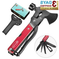 14in1 Stainless Steel Multitool in Durable Black Oxide,Campi