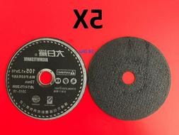 5x Cutting Wheel Disc For Angle Disc Grinder Cut off Stainle