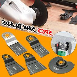 5x Mix Oscillating Multitool Saw Blades For Fein Multimaster