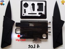 Credit Card Knife 11 in 1 multi tool Swiss style survival po