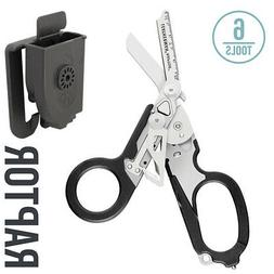 LEATHERMAN - Raptor Shears, Black with MOLLE Compatible Hols