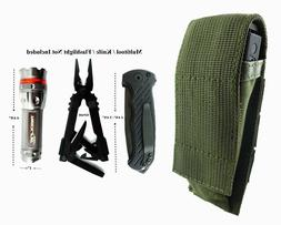 ARMY GREEN Pouch For Gerber MP800, MP600 Multi Tool, Folding