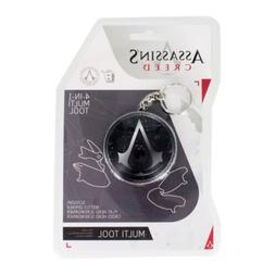 Assassin's Creed Logo Key Ring Bottle Opener Screwdrivers 4-
