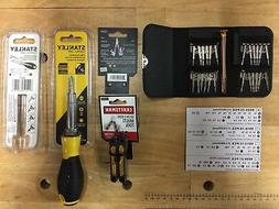 Craftsman MultiTool+Stanley All-In-One Screwdriver+25 pc min