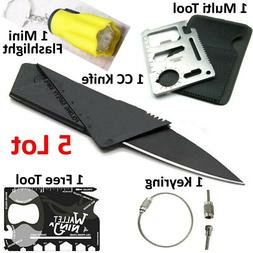 Credit Card Knives 1 Free Multi Tool wallet thin pocket surv