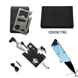 Credit Card Multitool Pocket Tool Kit Wallet Tool with Upgra