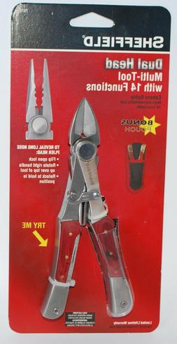 Sheffield Dual Head Multi - Tool with 14 Functions with Bonu