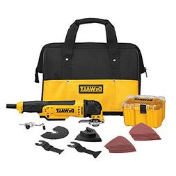 Dewalt DWE315K 3 Amp Oscillating Tool Kit with 29 Accessorie