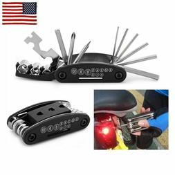 Fashion 15 in 1 Multi-function Bicycle Repair Hand Tool Set