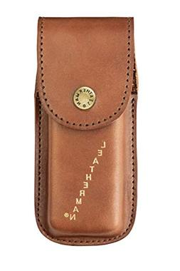 heritage leather snap sheath for multitools large