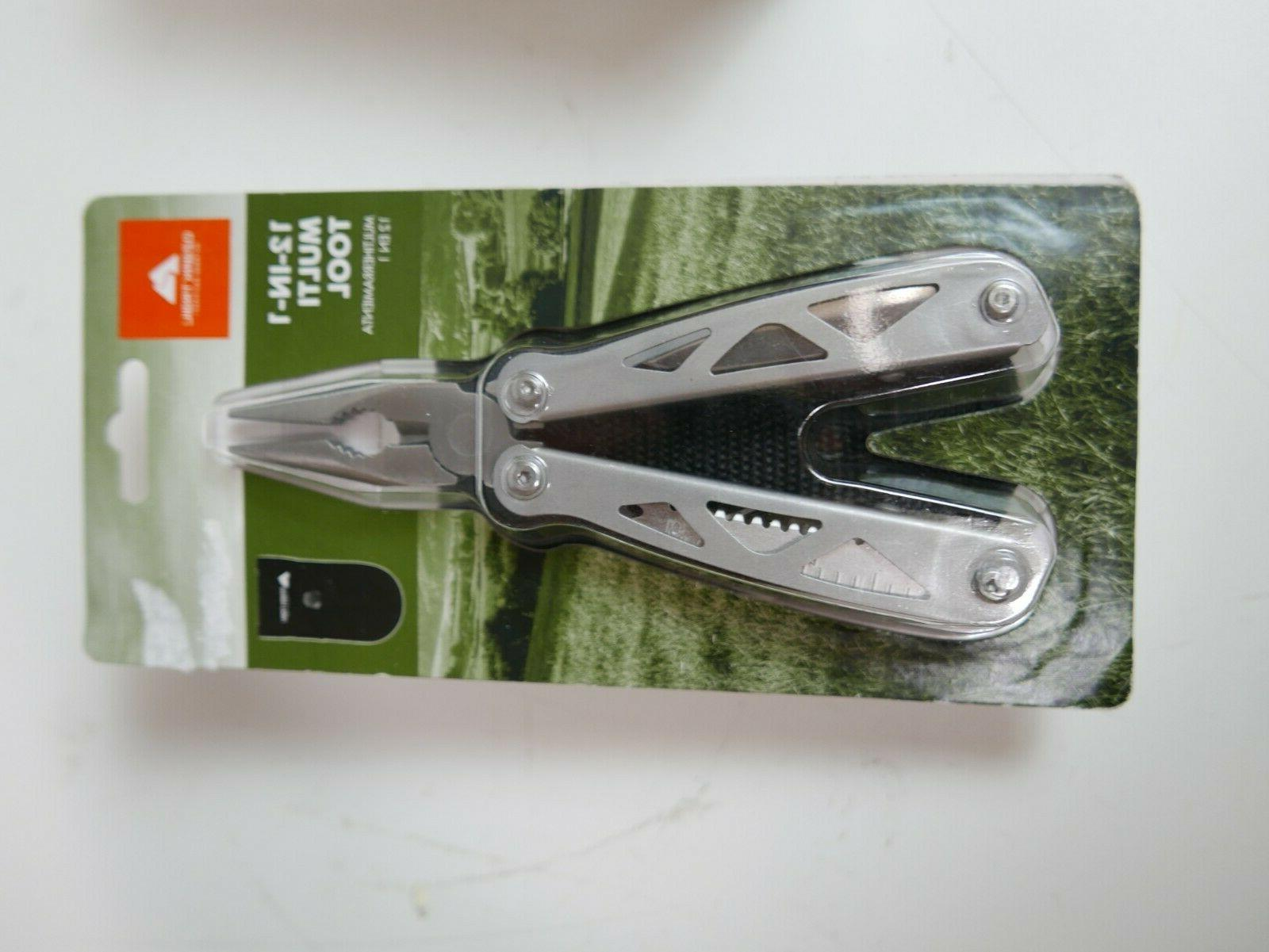 12 in 1 multi tool with nylon