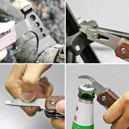 12 in 1 Multitool Hatchet Camping Survival with