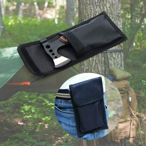 12 Portable Multitool Hatchet Camping Tool Survival Gear with