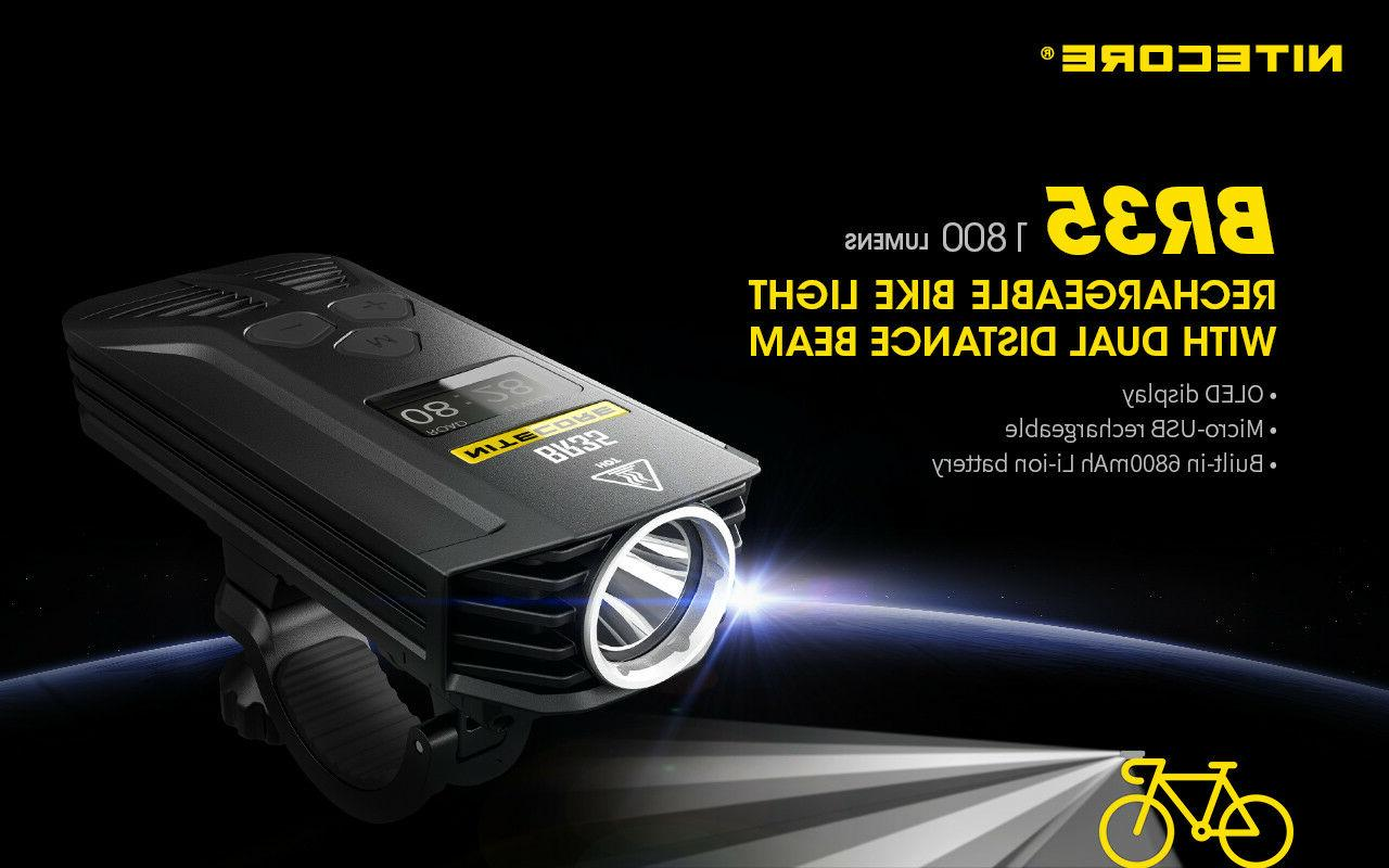 Nitecore 1800Lm Rechargeable Bike Car