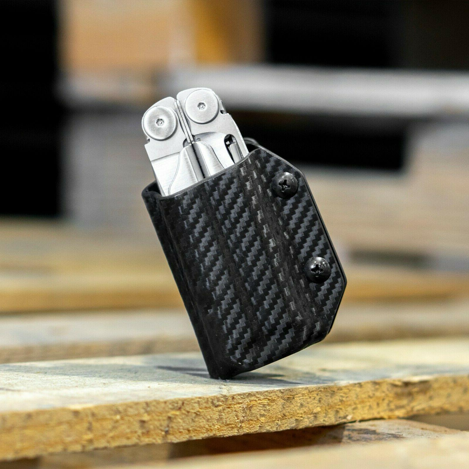 clip and carry kydex multitool sheath wave