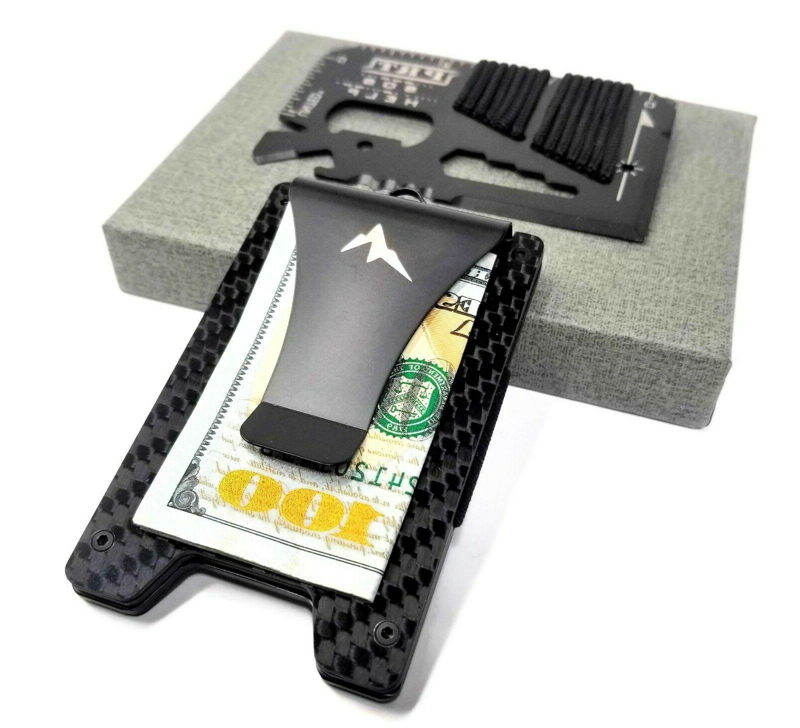 edc tactical wallet and credit card multitool