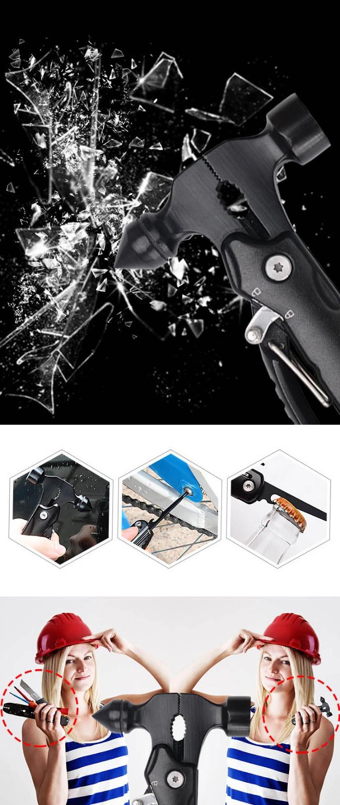 Multitool Hammer, Free Day Shipping!