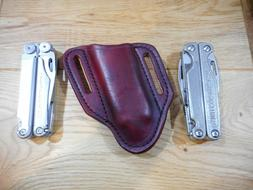 leatherman wave antique finish leather right quick