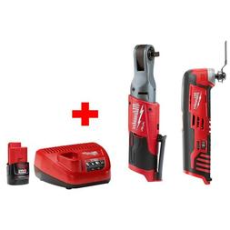 M12 FUEL 12-Volt Brushless Cordless 3/8 in. Ratchet Multi-To