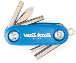 Park Tool AWS-13 Micro Fold-Up Hex Wrench Set