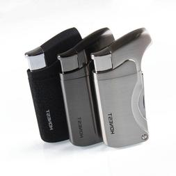 Multi-Tool Single Flame Torch Lighters - Black or Stainless