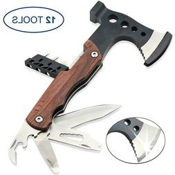Multitool Axe Stainless Steel Multi-Tool Chopping Axe for Ca
