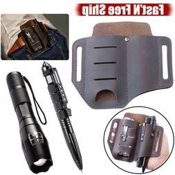 Multitool Leather Sheath EDC Holder Pocket Organizer Case Wa
