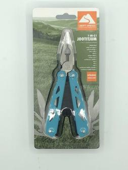 New Ozark trail 12 in 1 multi tool includes a handy case for