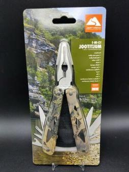 NEW Ozark Trail 12-In-1 Multi Tool Wire Cutter Screwdriver K