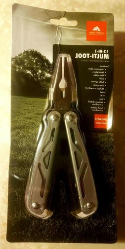 New In Sealed Package Ozark Trail 12-in-1 Multi Tool with Sh