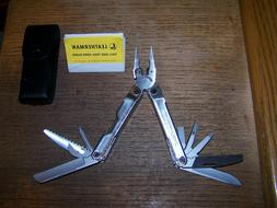 NEW Leatherman Rebar 17 Tools in 1 Multi-Tool With Leather S