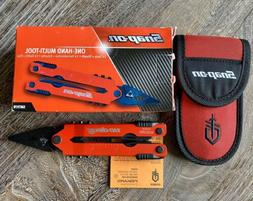 New RED Gerber multitool Snap-On SMT97R, Rare, Collectible M