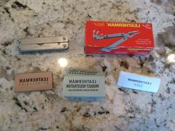 New, Leatherman SIDECLIP multitool, with Box, papers. Made I