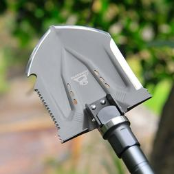 Outdoor Survival Tactical Folding Camping Shovel With Battle