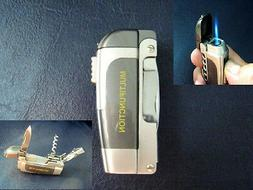 Pocket Lighter With Multi Tools Torch Jet Flame High Temp