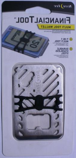 Nite Ize Steel Financial Tool Multi Tool Wallet Stainless St