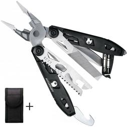 Survival Plier Fold Pocket Screwdriver Multi Tool Hiking Out