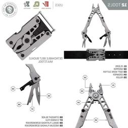 SOG Sync II Multi-Tool Wearable Belt Buckle / Clippable Base